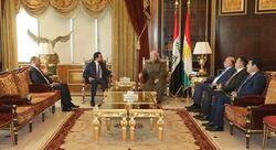 بارزاني للحلبوسي: تغيير القوانين ينبغي ان يكون لمصلحة كافة العراقيين