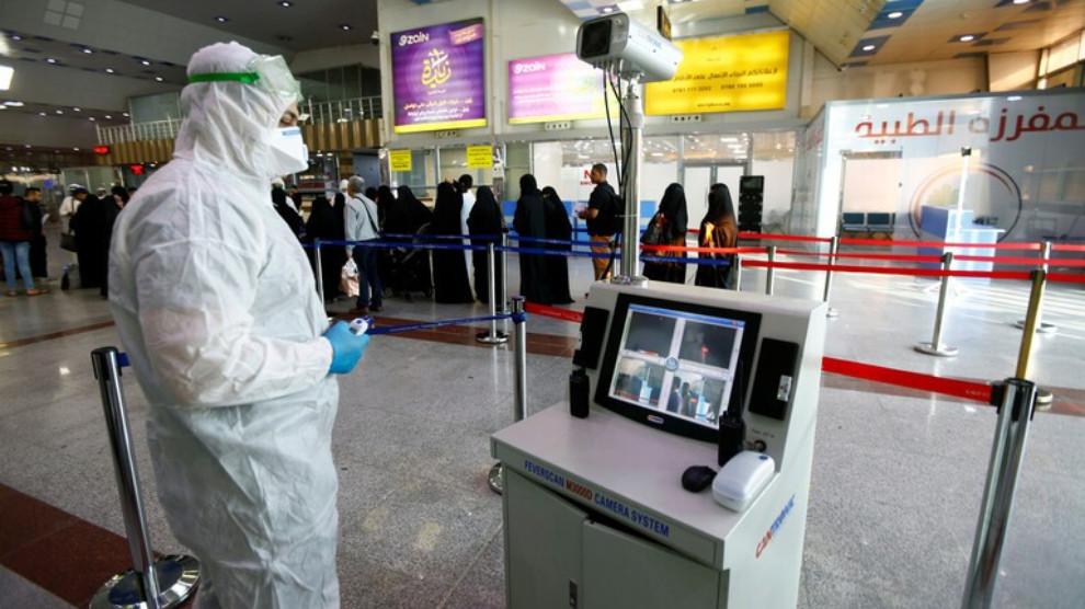 كوردستان تعلن اصابة جديدة بفيروس كورونا في السليمانية