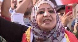 صدور مذكرة قبض بحق امرأة مجدت صدام والبعث بتظاهرات للعرب في كركوك