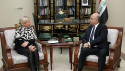 صالح يبحث مع ثلاثة وفود تحقيق الأمن والاصلاحات في العراق