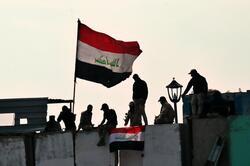 """العراق يستذكر """"النصر"""" على داعش باحتجاجات دامية"""
