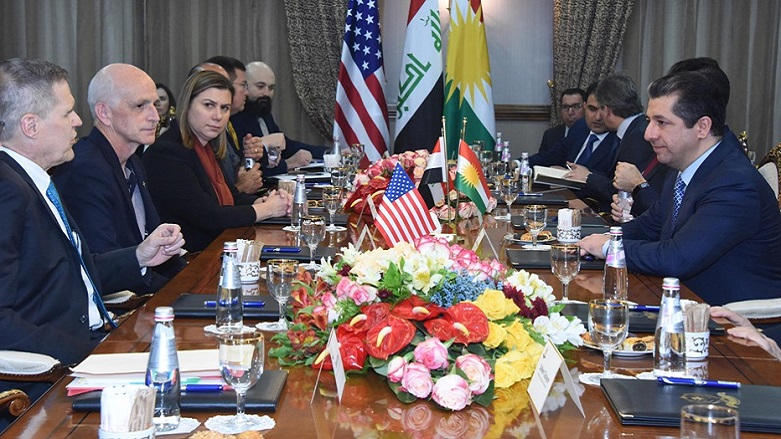American Congressional delegation arrives Erbil from Baghdad and meets with leaders of Kurdistan