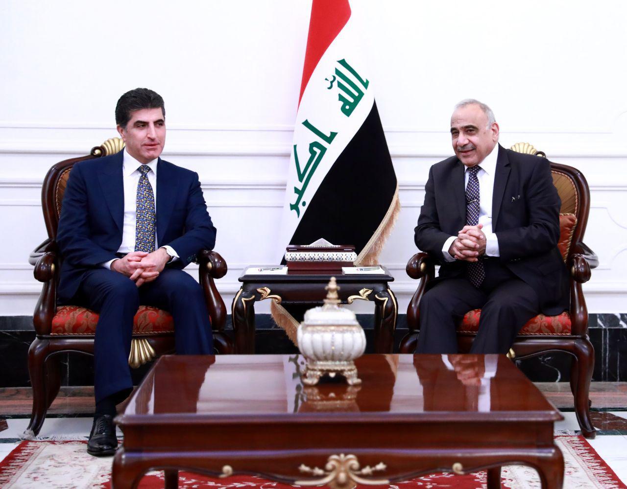 حداد يفصح عن رسالة حملها بارزاني الى بغداد ويكشف مفادها