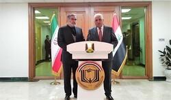 شمخاني من بغداد: ننتظر اليوم الذي لا يكون فيه اثر للصهاينة