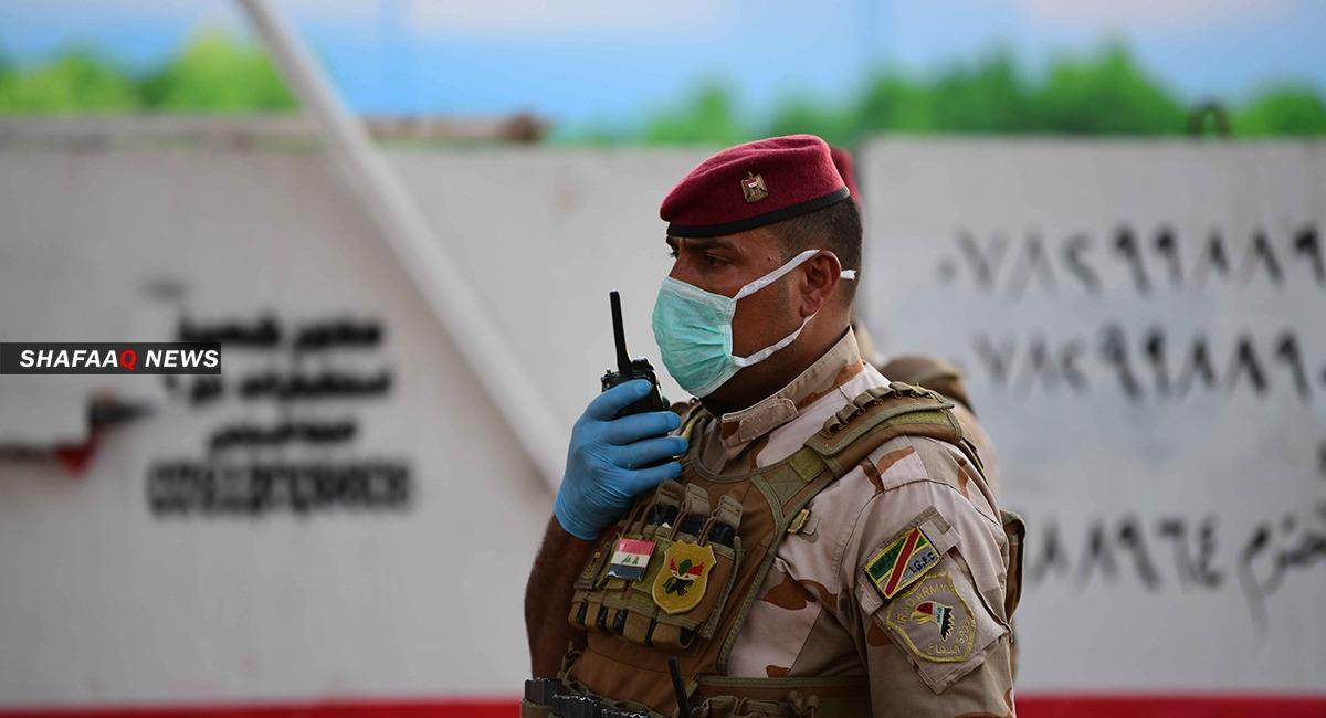 اصابة 70 شرطيا بينهم ثلاثة ضباط بكورونا في محافظة جنوبي العراق