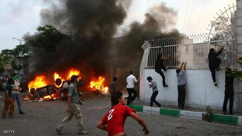 منظمة دولية تعلن ارتفاع حصيلة احتجاجات ايران الى اكثر من 300 قتيل