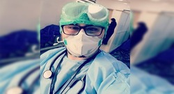 كورونا يصيب طبيبا بعد ملامسته مصابين في السليمانية