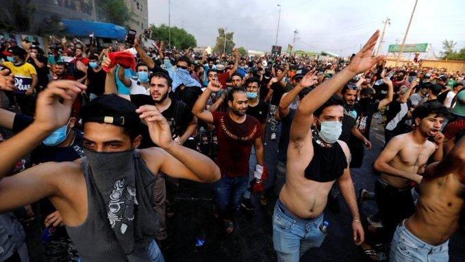 أمريكا تدين العنف ضد المتظاهرين بالعراق: منتهكو حقوق الانسان يجب محاسبتهم