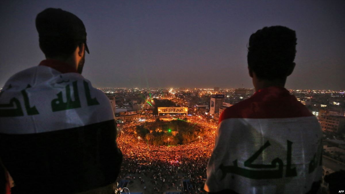 """""""#قیام_عراق"""".. ايرانيون يغردون عن الاحتجاجات في العراق فما المحتوى؟"""