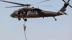 قوة مشتركة تنفذ انزالا جويا وتعتقل قياديا في الحشد غربي العراق