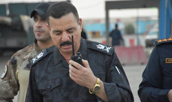 قائد شرطة واسط الجديد: ساحة التظاهرات خط احمر