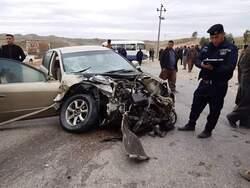 وفاة ثلاثة اشخاص بحادث مروع في السليمانية