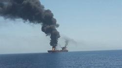 تقرير امريكي يتهم الحرس الثوري بالهجوم على ناقلتي النفط في بحر عمان