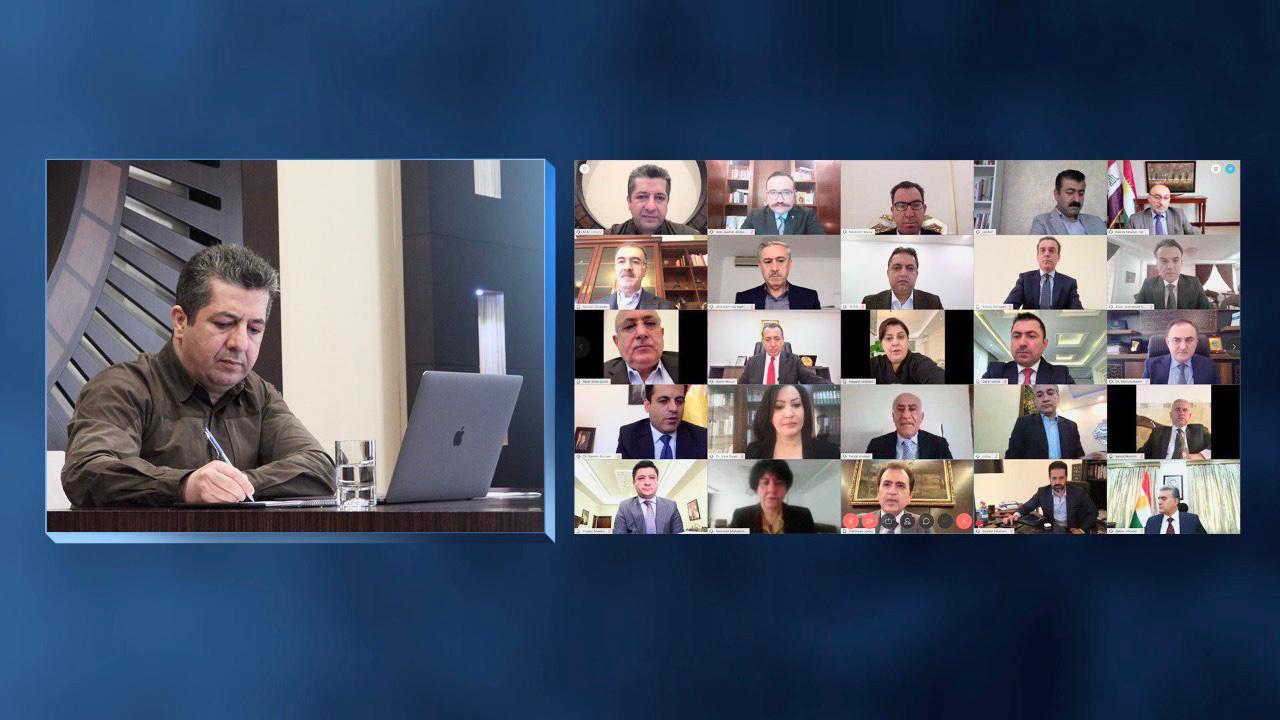 حكومة كوردستان تقر بالاجماع على عدم المساس بالرواتب ومنحها الاولوية