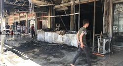 وفاة واصابة خمسة اشخاص بحريق في كركوك
