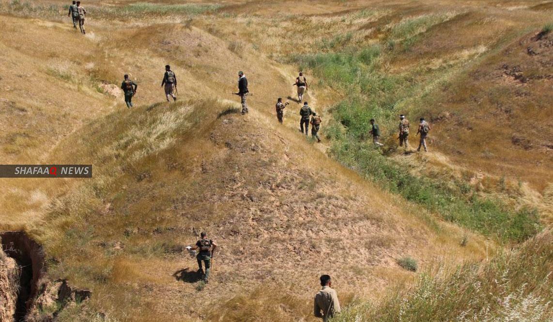 جرحى من قوة أمنية بهجوم لداعش في صلاح الدين