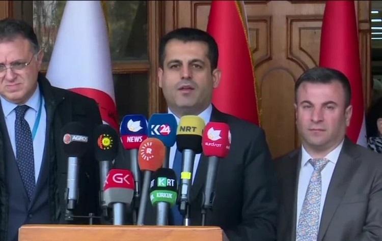 كوردستان تخلي سبيل 104 اشخاص عائدين من الصين وتضع 8 تحت المراقبة