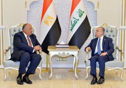 الخارجية العراقية توضح مضمون رسالة السيسي لصالح