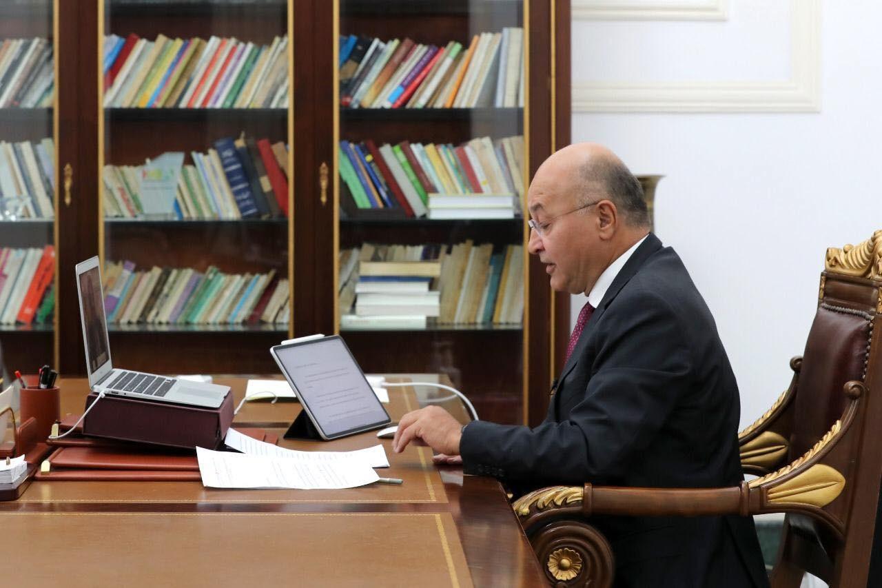 صالح يطلب دعماً دولياً لانتشال نحو نصف سكان العراق من الفقر