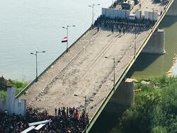 الأمن يقتل متظاهرا ويعتقل مندسا حاول اختراق الاحتجاجات وسط بغداد