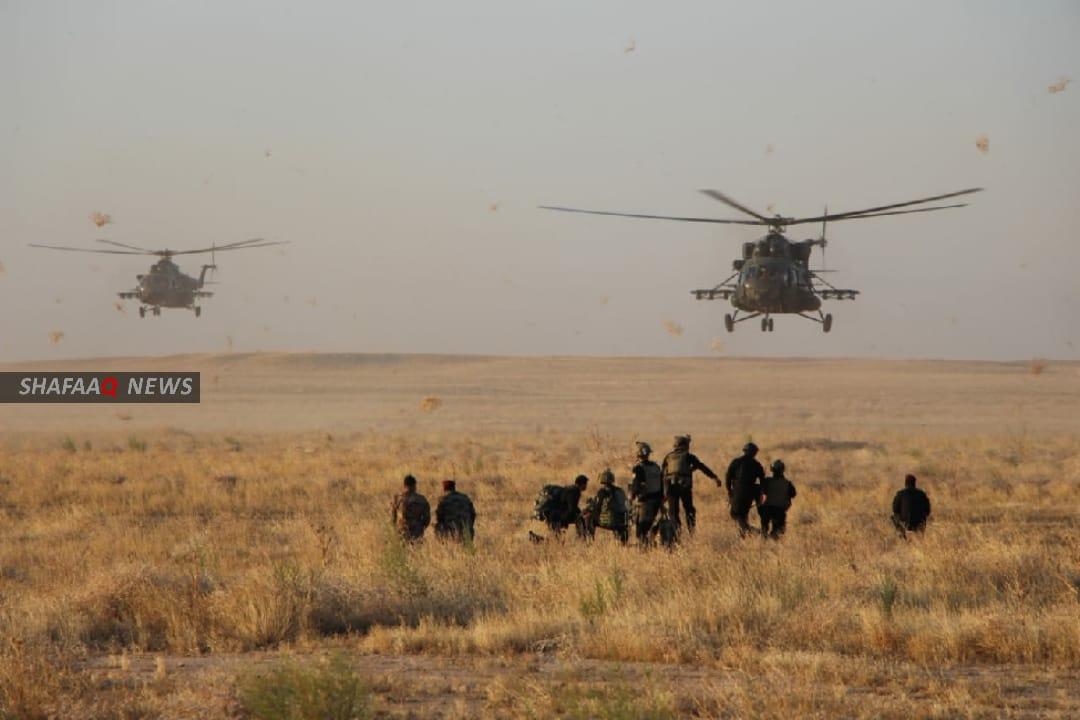 القوات العراقية تواصل عملية عسكرية بجزيرة وتطلق اخرى بصحراء