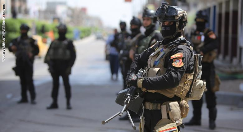 A security man killed and 4 wounded in an armed attack near Sadr City