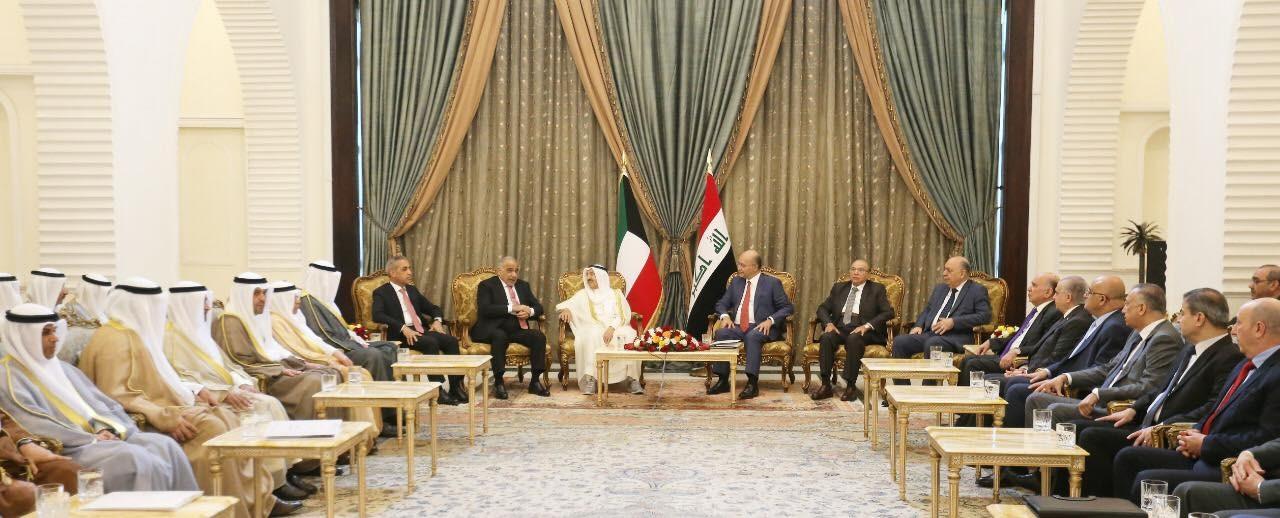 بعد مأدبة غداء حضرها كبار المسؤولين.. كيف ينظر العراق والكويت لأزمة المنطقة