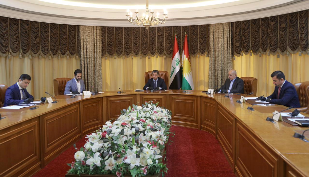 Masrour Barzani meets KRG negotiating delegation to Baghdad