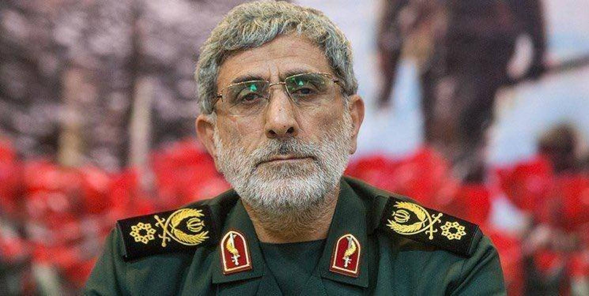 Iran acknowledges Qaani's visit to Iraq and reveals letters sent from there