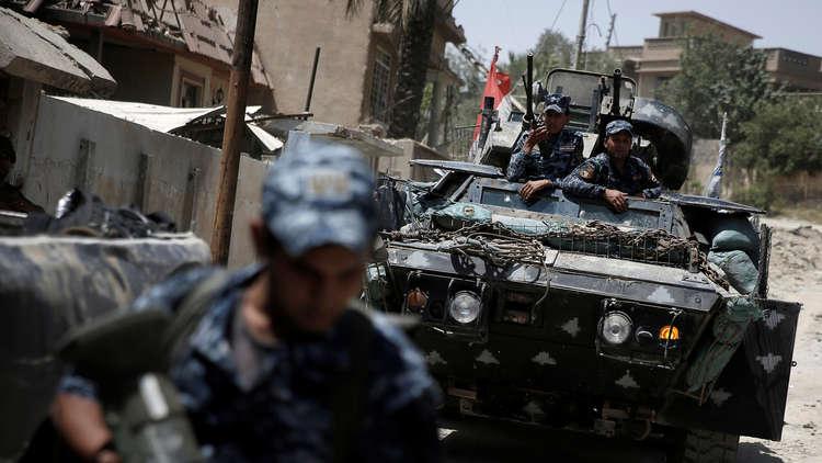 قوة عراقية تعتقل عنصرين بداعش اعترفا بمسؤوليتهما عن تفجيرات بكركوك
