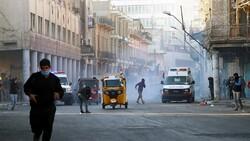 """""""رويترز"""": مقتل متظاهرين اثنين واصابة 22 بتفريق احتجاج ببغداد"""