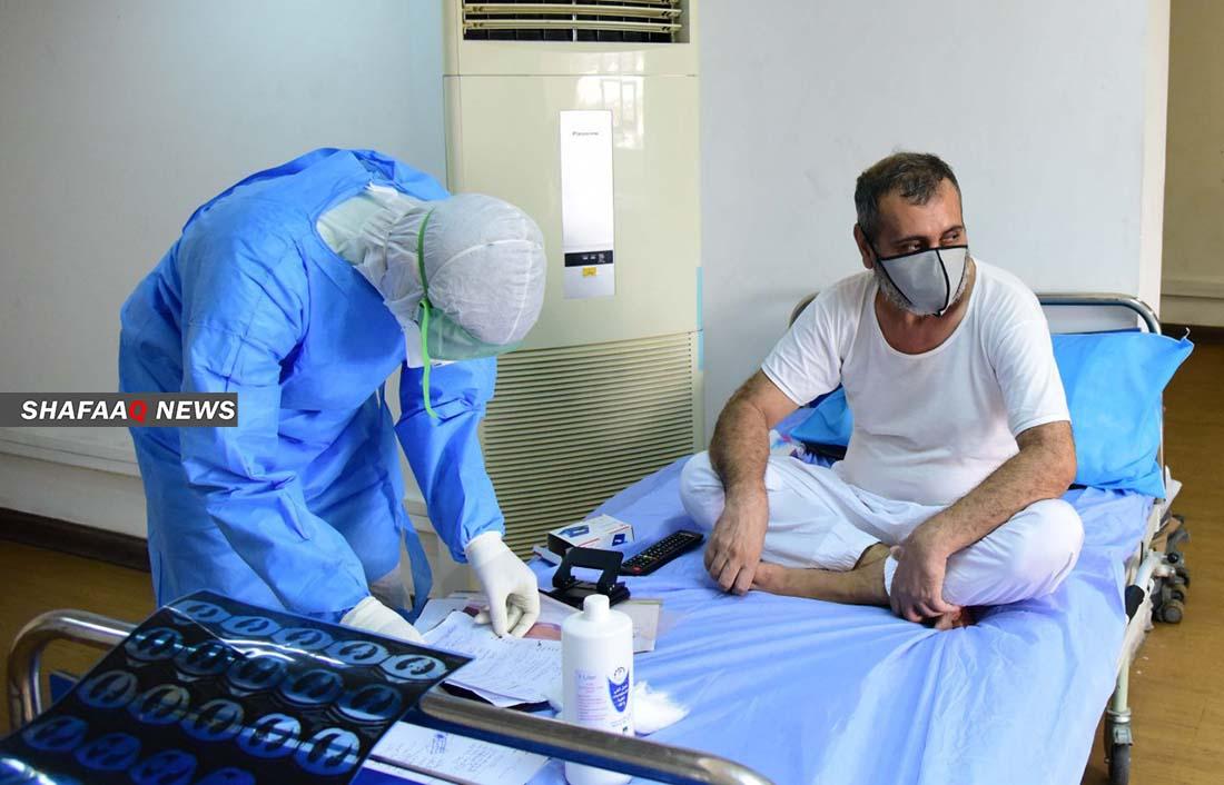 كورونا العراق .. 839 اصابة جديدة مقابل 1889 حالة تعافٍ