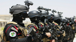 Counter-terrorism deployed troops in Baghdad