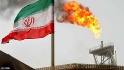 حريق هائل في منشأة نفط إيرانية