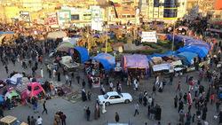 مقتل واصابة ثلاثة اشخاص في ساحة للاعتصام جنوبي العراق