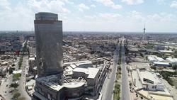 حريق كبير في شورجة بغداد و20 فرقة إطفاء تحاول إخماده