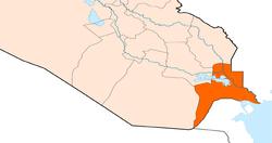 نائب يحذر سكان شمال البصرة: حياة آلاف المواطنين مهددة