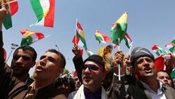 تظاهرات ضد العملية العسكرية التركية أمام مقر الامم المتحدة في كوردستان