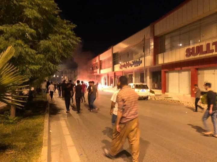 مشاجرة بالسلاح الابيض توقع اصابات في رانية