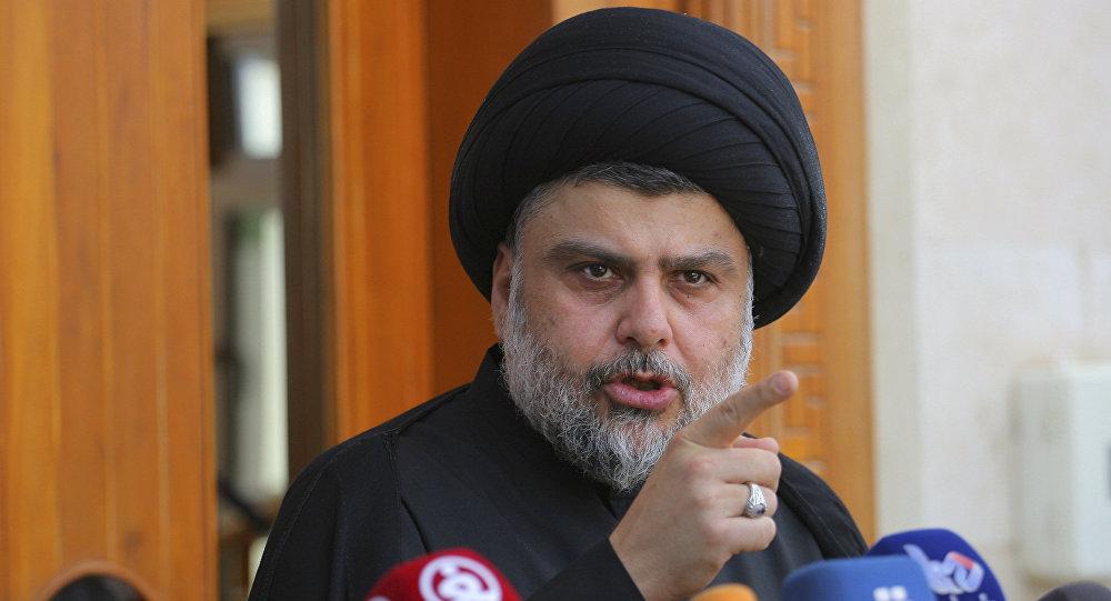 """الصدر يحث لمساندة الاحتجاجات بثلاثة ويدعو المتظاهرين عدم التعرض للسفارات """"غير المحتلة"""""""