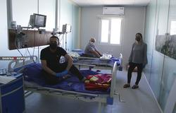 اصابة 12 طبيبا وكادرا صحيا بفيروس كورونا في السليمانية
