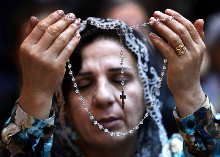 Four members of French NGO Christians of the Middle East 'missing in Baghdad'