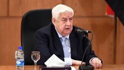 وزير الخارجية السوري: لا نسعى لمواجهة مسلحة مع الجيش التركي