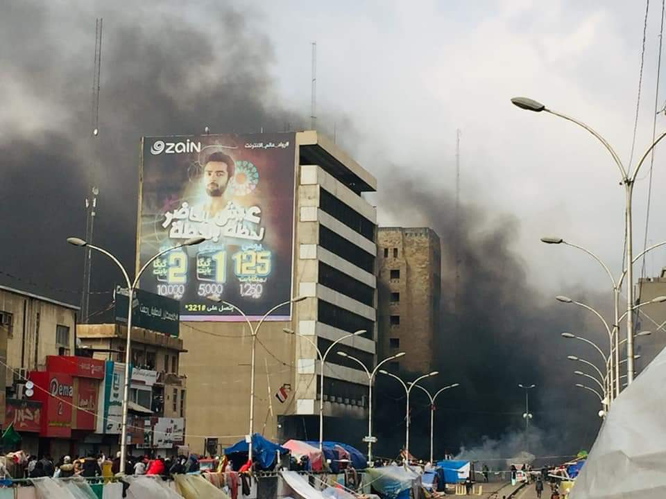 Clashes Renewed Between Security Forces and Protesters in Baghdad