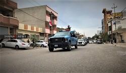 اصابة ضابط ومنتسب بالشرطة بتفجير جنوبي كركوك