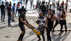 3 demonstrators killed in central Baghdad