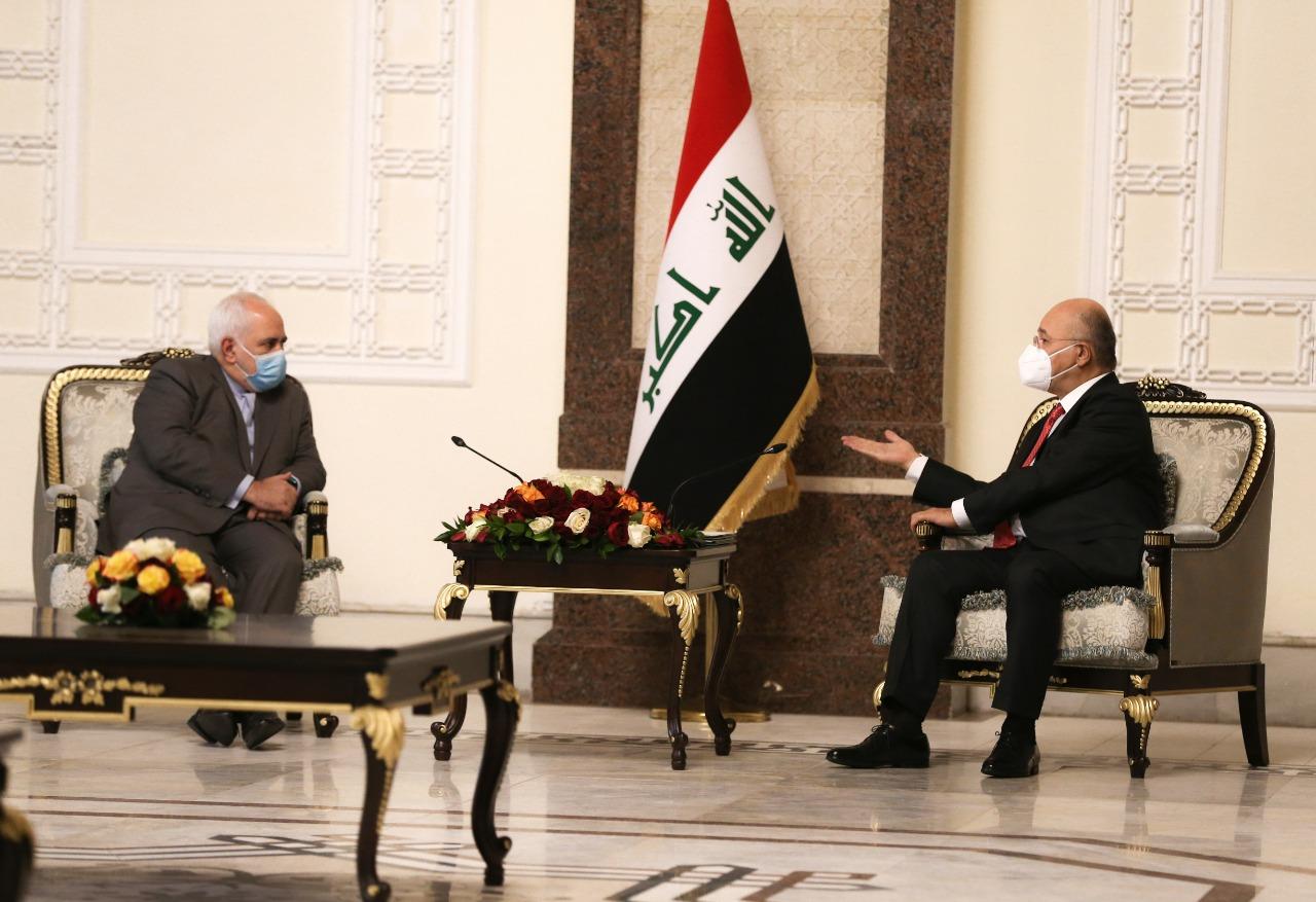 الرئيس العراقي لإيران: نتعاون مع الحلفاء والأصدقاء لاستقرار المنطقة