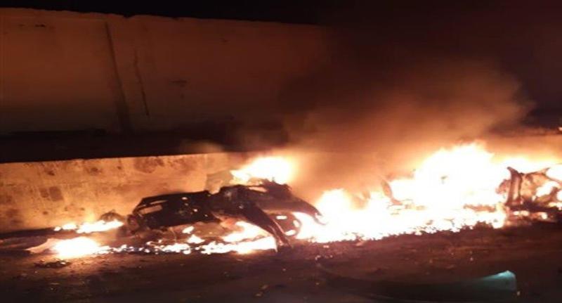 انفجار مفخخة أمام سجن مركزي يضم معتقلي داعش