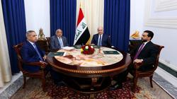 بحث عدة ملفات.. الكشف عن نتائج اجتماع الرئاسات في بغداد