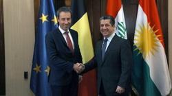بلجيكا تبدي استعدادها لتعزيز العلاقات التجارية مع إقليم كوردستان